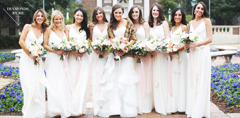 Bridesmaides with logo