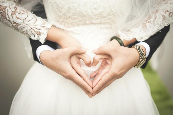 bruiloftsjaren leeg