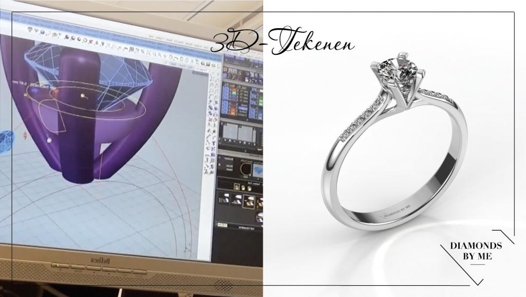 3d tekenen het zelf ontwerpen van sieraden diamondsbyme for Tekenen 3d