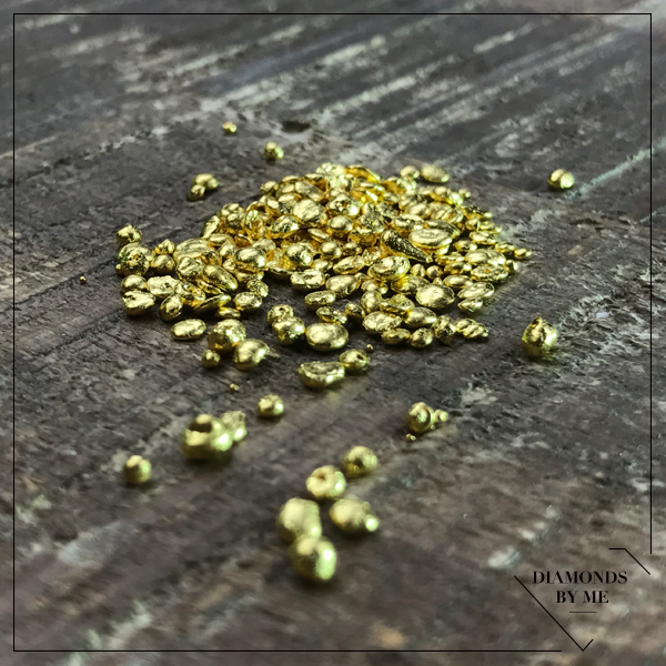 Goud grenailles